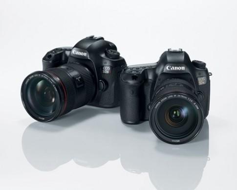Canon EOS 5DS trình làng với cảm biến 50,6 megapixel