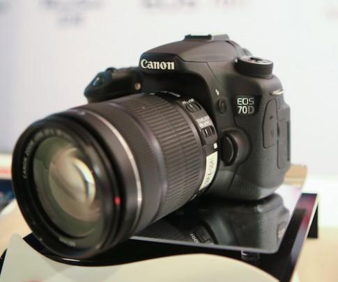 Canon EOS 70D về Việt Nam giá từ 24,5 triệu đồng