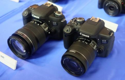 Canon EOS 750D và 760D giá từ 14,5 triệu đồng
