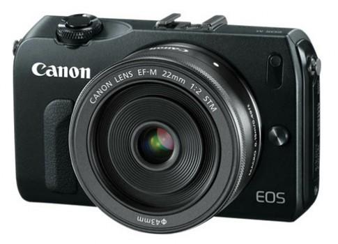 Canon EOS M dùng cảm biến giống 650D