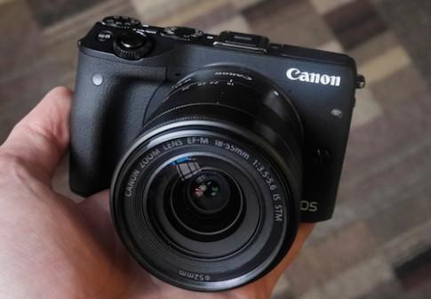 Canon EOS M3, máy ảnh mirrorless với sức mạnh của DSLR