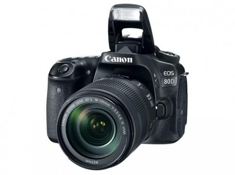 Canon giới thiệu EOS 80D và ống kính 18-135 mm mới