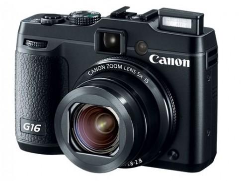 Canon giới thiệu hai máy compact cao cấp G16 và S120