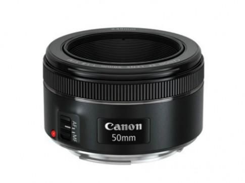 Canon giới thiệu ống kính 50mm f/1.8 mới có STM