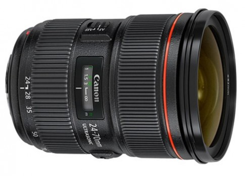Canon hoãn bán ống 24-70 mm bản II đến tháng 9