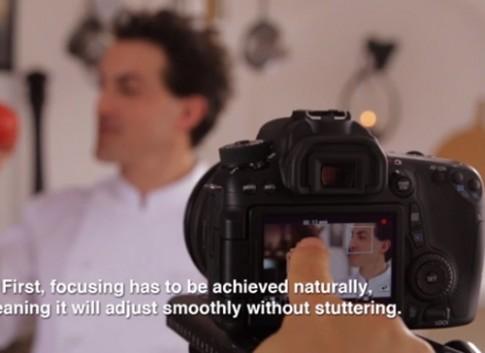 Canon khoe khả năng lấy nét siêu nhanh trên EOS 70D