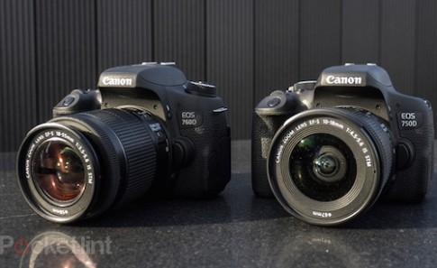 Canon ra bộ đôi EOS 750D và 760D cho người mới chơi DSLR