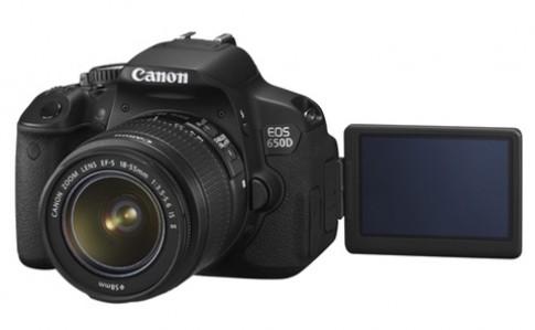 Canon ra EOS 650D màn hình cảm ứng
