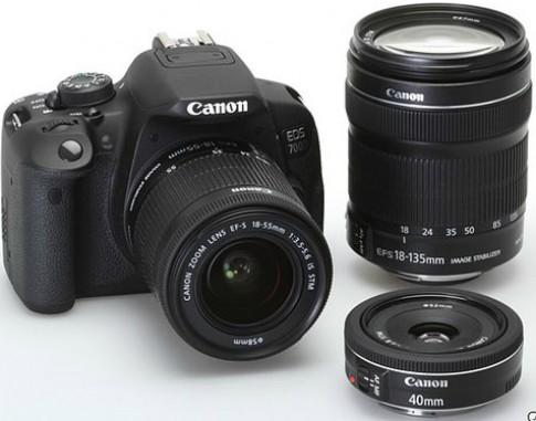 Canon ra EOS 700D với quá ít sự thay đổi
