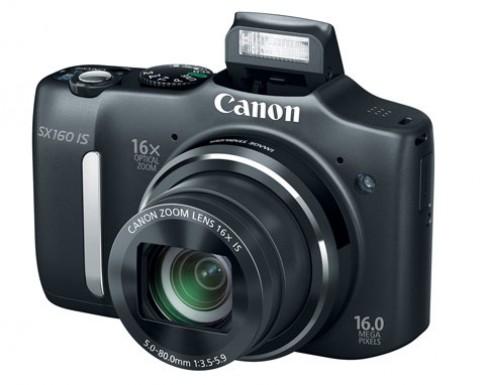 Canon ra mắt bộ đôi siêu zoom mới SX160 IS và 500 IS