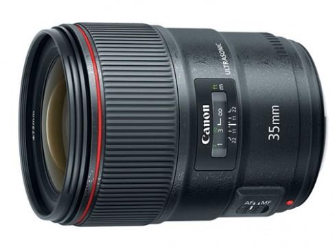 Canon ra ống 35 mm f/1.4L mới hạn chế quang sai màu