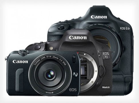 Canon sẽ ra 3 máy ảnh ống kính rời vào đầu năm sau