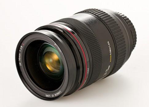 Canon sẽ thêm chống rung cho ống kính 24-70 mm