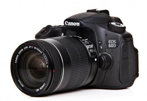 Canon sửa lỗi hiển thị số serial trên EOS 60D