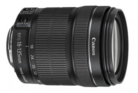 Canon thêm ống zoom 18-135 mm và fix 40 mm siêu mỏng