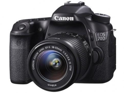 Canon trình làng EOS 70D nhưng 'quên' nói về nhiếp ảnh