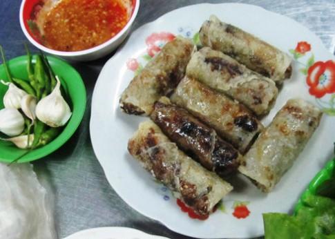 Chả dông - đặc sản Phú Yên