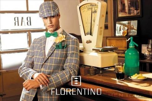 Chàng nổi bật trong chiến dịch xuân/hè 2014 của Florentino