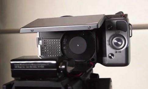'Chế' quạt tản nhiệt cho Sony NEX-5N