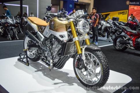 Chi tiết Honda CB650 Scrambler Concept tại Bangkok Motor Show 2016