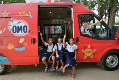 Chiếc xe ước mơ của trẻ tới Đồng Nai