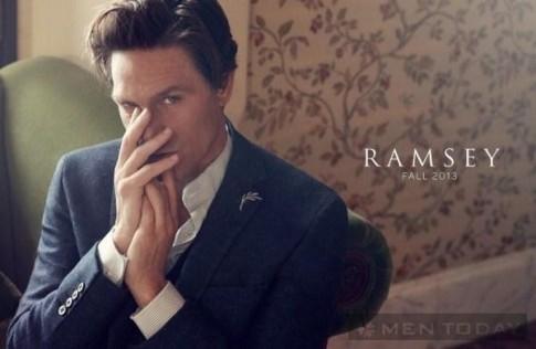 Chiến dịch thời trang nam thu đông 2013 lịch lãm của Ramsey