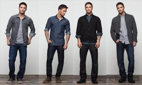 """Chọn quần jeans """"chuẩn men"""" cho các chàng"""