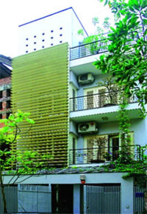 Chống nóng nhờ giải pháp kiến trúc