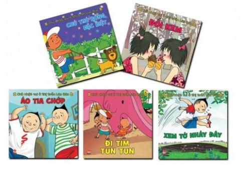 Chủ nhật vui ở thị trấn Lúc Búc - sách hay dành cho bé
