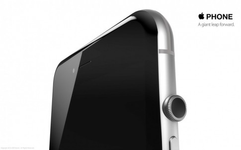 [Clip] Concept iPhone 7 không có nút Home, lấy cảm hứng từ Apple Watch