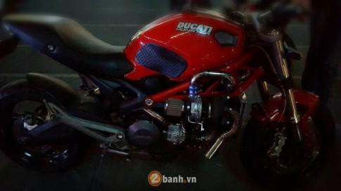 [Clip] Ducati Monster 795 hầm hố với động cơ Turbo siêu khủng