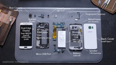 [Clip Hay] In-Boxing Galaxy S6 Edge cực đẹp.