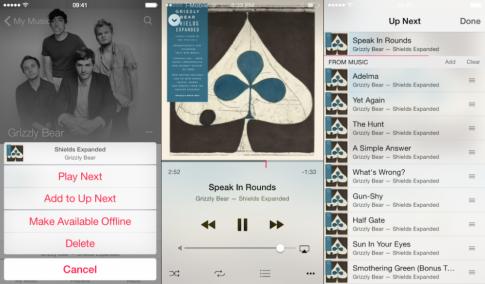 [Clip] Trình diễn ứng dụng Music mới của iOS 8.4
