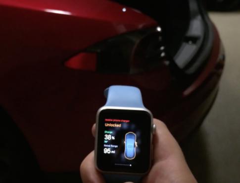 [Clip] Xem Apple Watch điều khiển được xe hơi