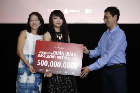 Cô gái 9x đăng quang Vua đầu bếp Việt 2014