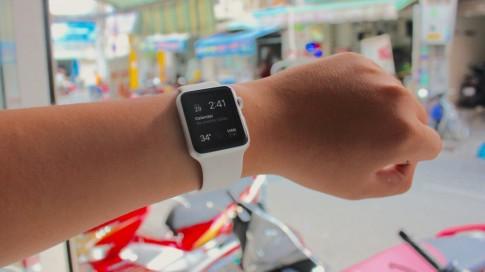 Công nghệ 5giay trên tay Apple Watch Sport tại Việt Nam
