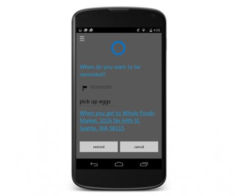 Cortana cho Android sẽ ra mắt vào tháng 7