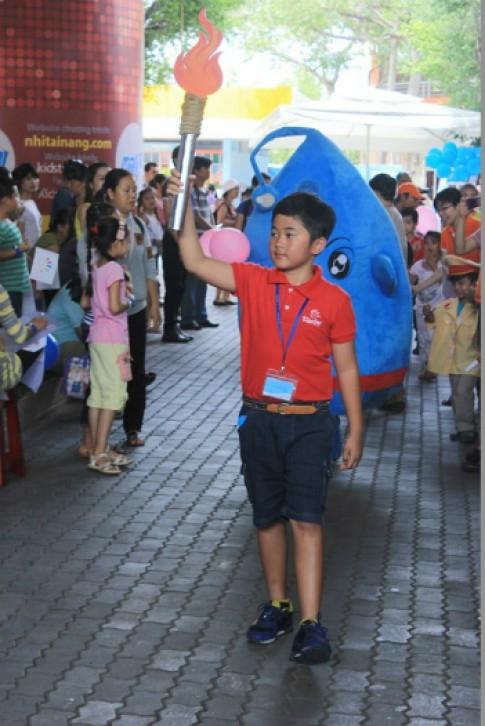 Cuộc chơi thế vận hội mùa hè của 1.000 trẻ