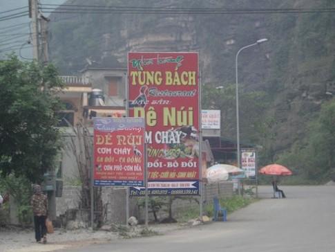 Đặc sản dê tái chanh Ninh Bình