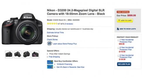 'Đập hộp' Nikon D3200