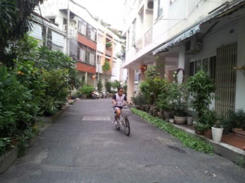 Đạp xe rong chơi mỗi chiều
