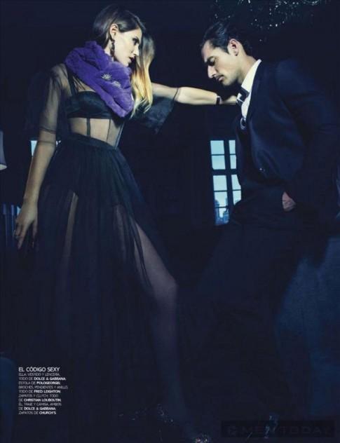 David Gandy và Bianca Balti lãng mạn trên Vogue Hombre