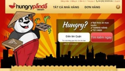 Dịch vụ đặt thức ăn trực tuyến tại Hungrypanda