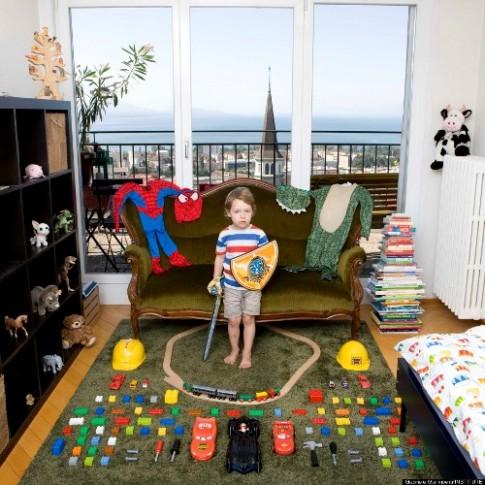 Đồ chơi yêu thích của trẻ em trên thế giới