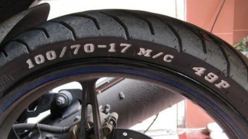 Đọc hiểu ký hiệu thông số trên lốp xe