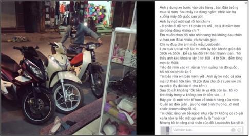 """Đôi giày 500k tặng bạn gái và câu chuyện chàng trai """"ai cũng cần có trong đời"""""""