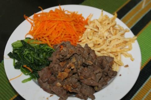 Đổi vị với cơm trộn Hàn Quốc