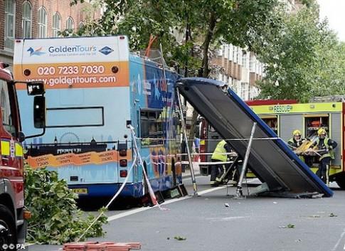 Du khách bị cắt lìa tai do tai nạn xe buýt ở Anh