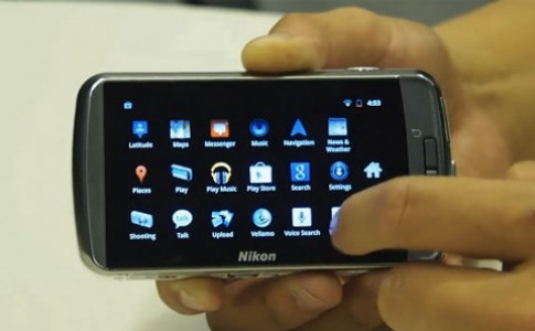 Dùng thử máy ảnh chạy Android của Nikon