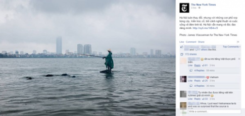 Fanpage nổi tiếng thế giới dùng tiếng Việt làm bất ngờ cộng đồng mạng